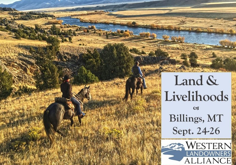 Land & Livelihoods: Sept. 24-26 in Billings, MT
