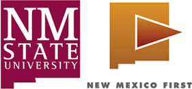 NM State University and NM First logos